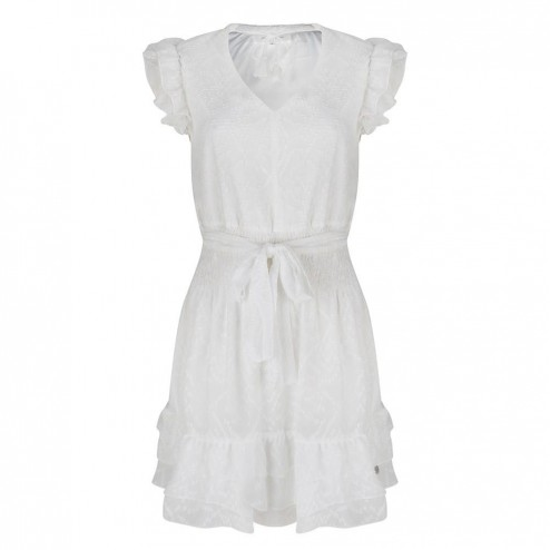 Jacky Luxury JLHS19023 white dress
