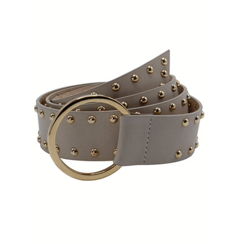 So Jamie stud belt Knot it up beige silver