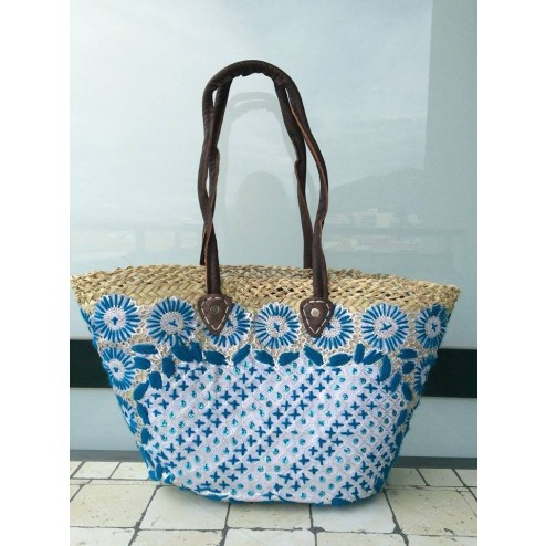 beachbag in embroidery