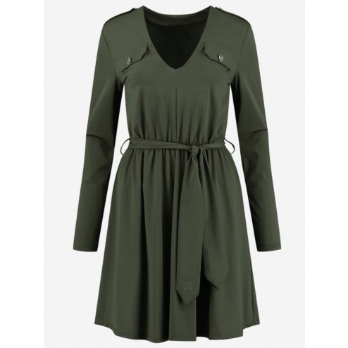 Nikkie N5-379 2005 Suzy Utility dress travel in army