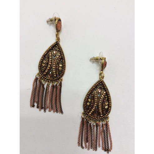 Earrings raindrop