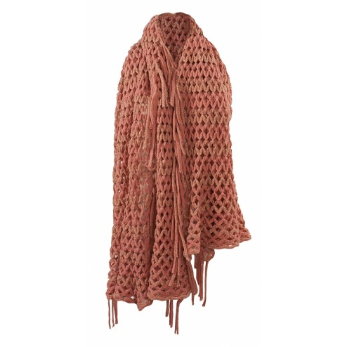 Jacky Luxury poncho in roze.