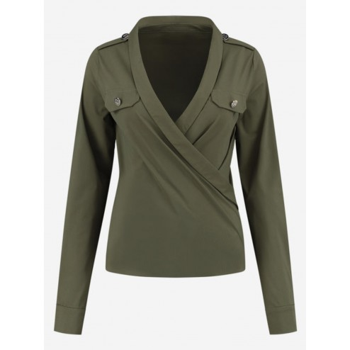 Nikkie N6-343 2005 Suzy Utility top travel in army