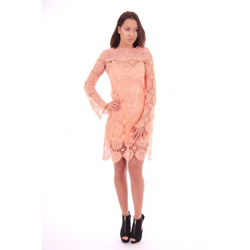 crochet dress van Labee