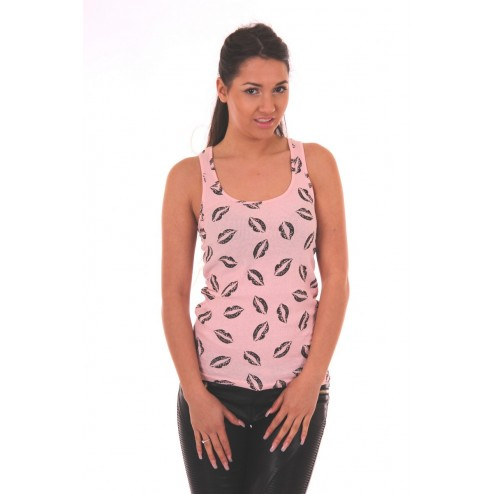 Tailor & Elbaz sweet lips top