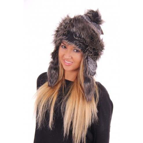 Starling fur hat