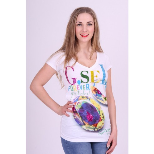 G,sel Milano T-shirt; G.SEL COLOR