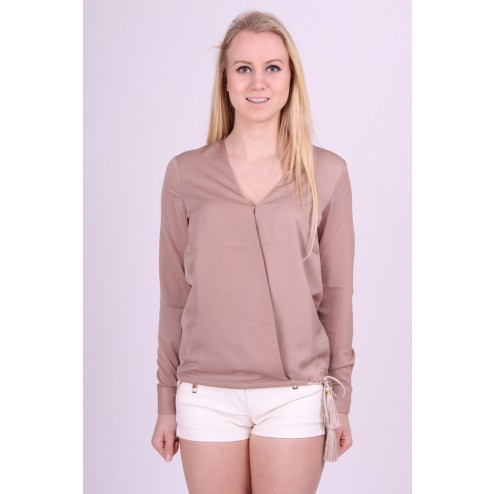 Allison tuniek van Josh V in taupe