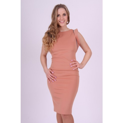 Given dress in poeder roze