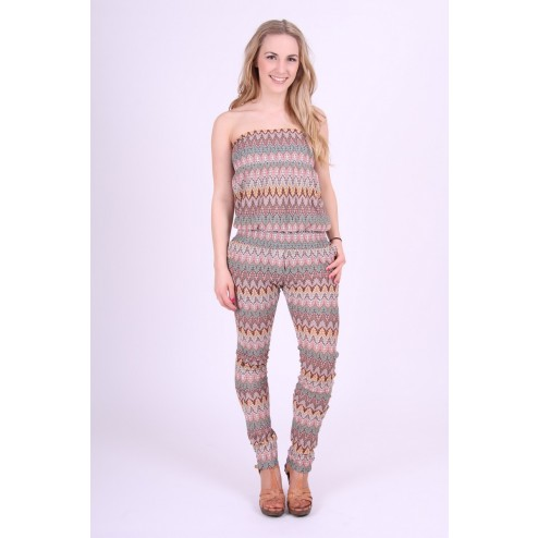 Jacky Luxury jumpsuit in lurex missoniprint