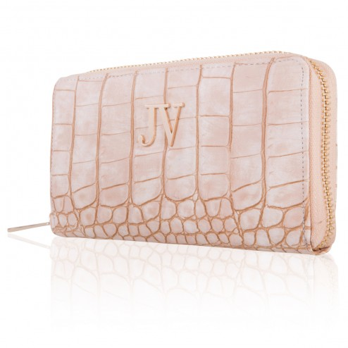 Josh V Waylon wallet in pale blush
