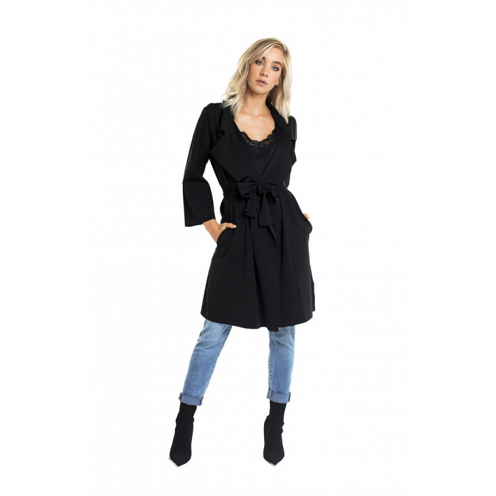 Jacky Luxury Trenchcoat met ceintuur Travel