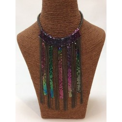 ketting in multicolor metal, Cascade
