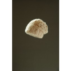 Mohair beanie van starling in kabel: roze