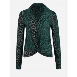 Nikkie Saar blouse in snakeprint