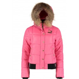 Nickelson Amoen winterjas in pink