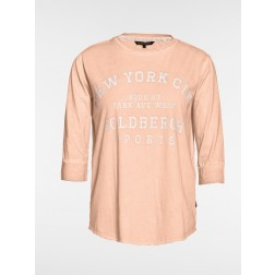 Goldbergh t-shirt, Frederique in fluor peach