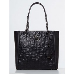 Guess New wave shopper zwart - gestikt G logo