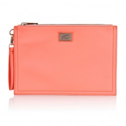 Josh V Caressa clutch in peach
