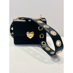Valentino Guitar crossbody bag in zwart
