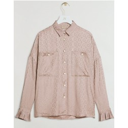Josh V Cornalie blouse in almond