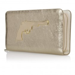 Josh V clutch, COLBO in goud, Sahara collection