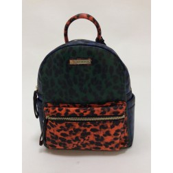 Silvian Heach Landrum backpack, multcolor leopard