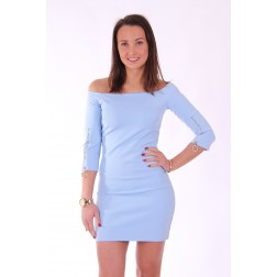 Supertrash Dhoria jurkje in sky blue