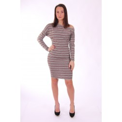 Supertrash Doulains midi dress - gestreept