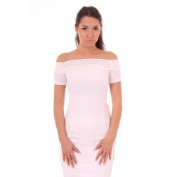 Glamorous Shane top in wit