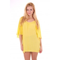 Labee Zembla dress in yellow