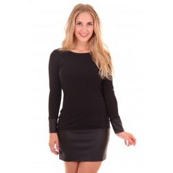 Kiims DASHA dress met leer