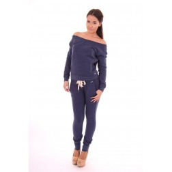 Jacky Luxury loungesuit in navy
