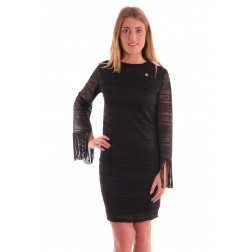 Relish Fring dress in zwart kant