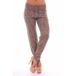 LOST broek in leopard - army