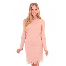 Miss Money Money shift-dress in softpink