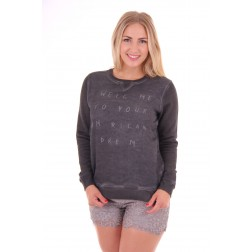 By Danie American dream sweater in black