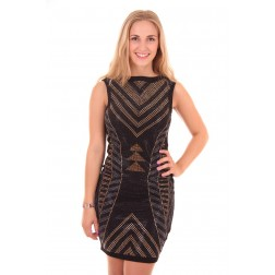 Lipsy London multi stud dress