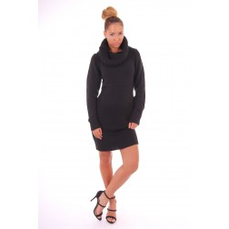 Josh V Philia knit dress in zwart