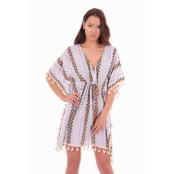 Labee-a-Porter tunic-dress, Verano in print