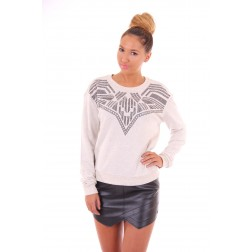 Silvian heach sweater in aztek