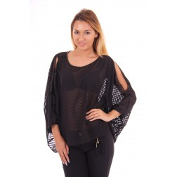 Relish Midoris tuniek top, open schouders
