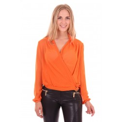 Relish Avie blouse in orange