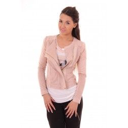 Glamorous Cushion jacket in pink