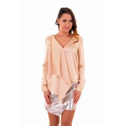 Josh V Gioya blouse in nude