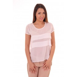 Tailor and Elbaz Toffee top in white