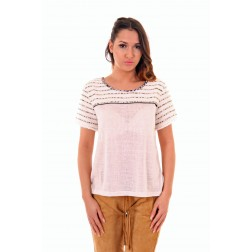 Suncoo Marie shirt in white