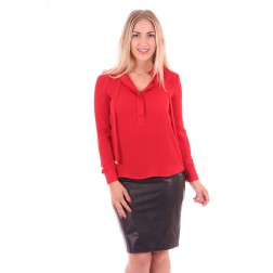 G.sel blouse in red: Belinda blouse