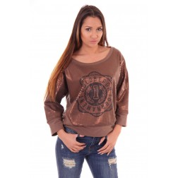 Goldbergh sweater met pailletten