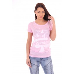 Tailor & Elbaz t-shirt ACE in pink
